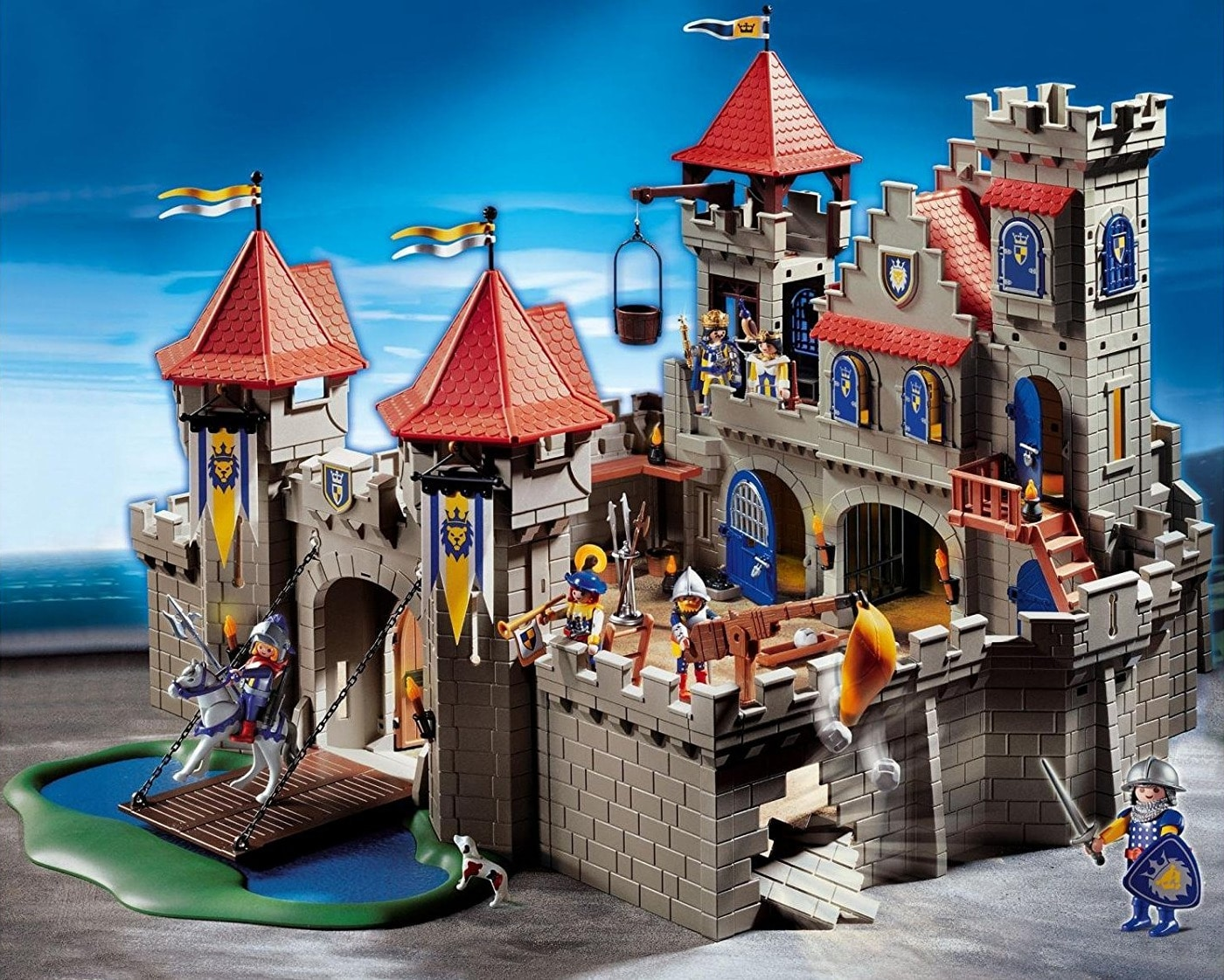 grand ch teau royal du lion 3268 playmobil ch teau fort