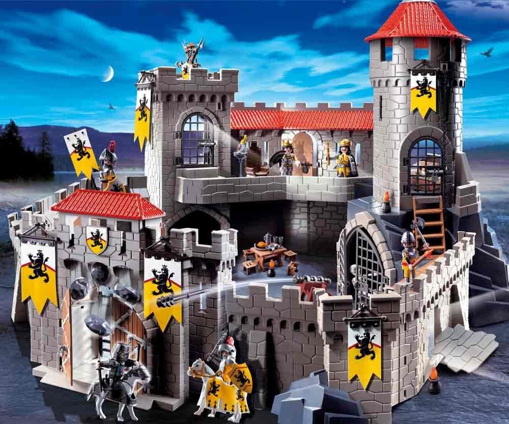 Ch teau fort playmobil des chevaliers du lion 4865 - Chateau de mike le chevalier ...