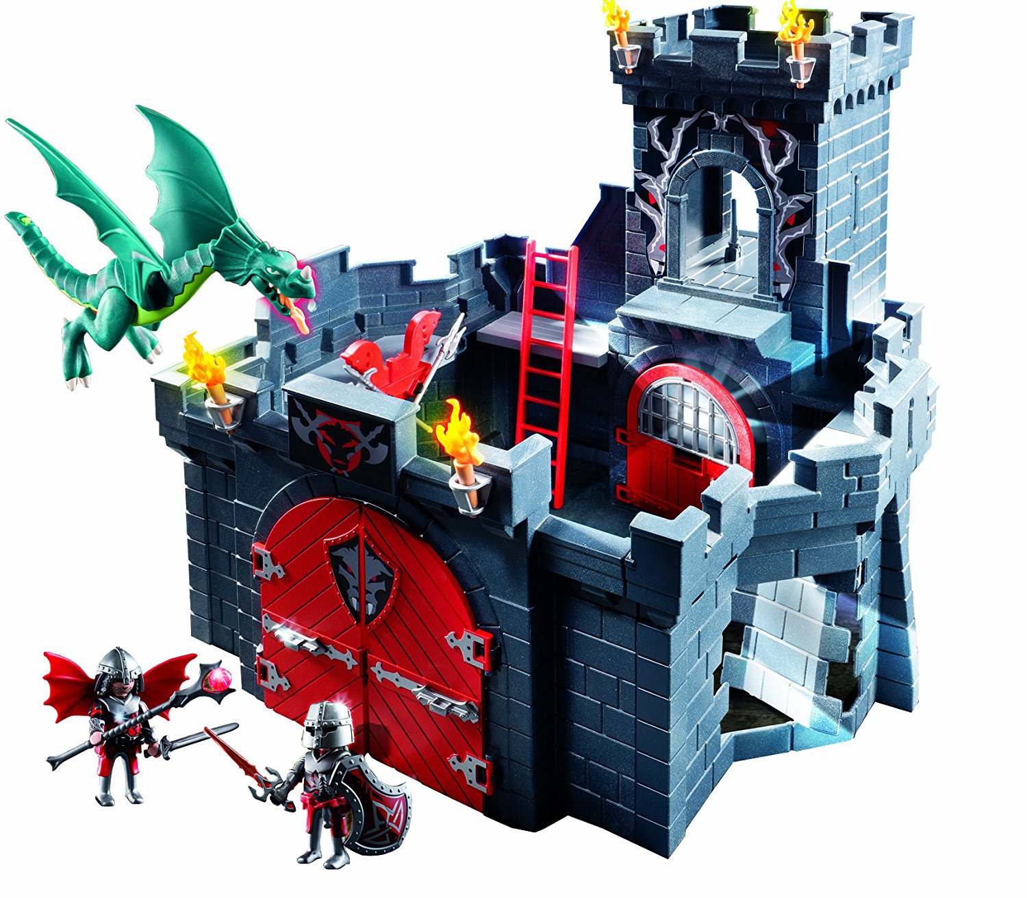 Château fort Playmobil chevaliers dragons 5979