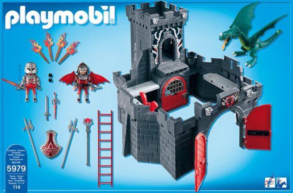 Château-fort Playmobil dragon 5979