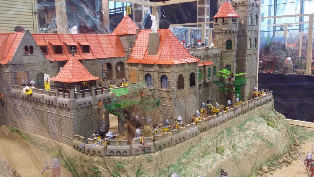 Les dioramas Playmobil