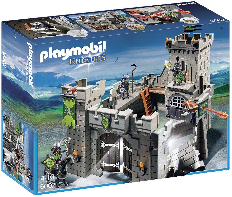 Fort des chevaliers du Loup 6002 Playmobil