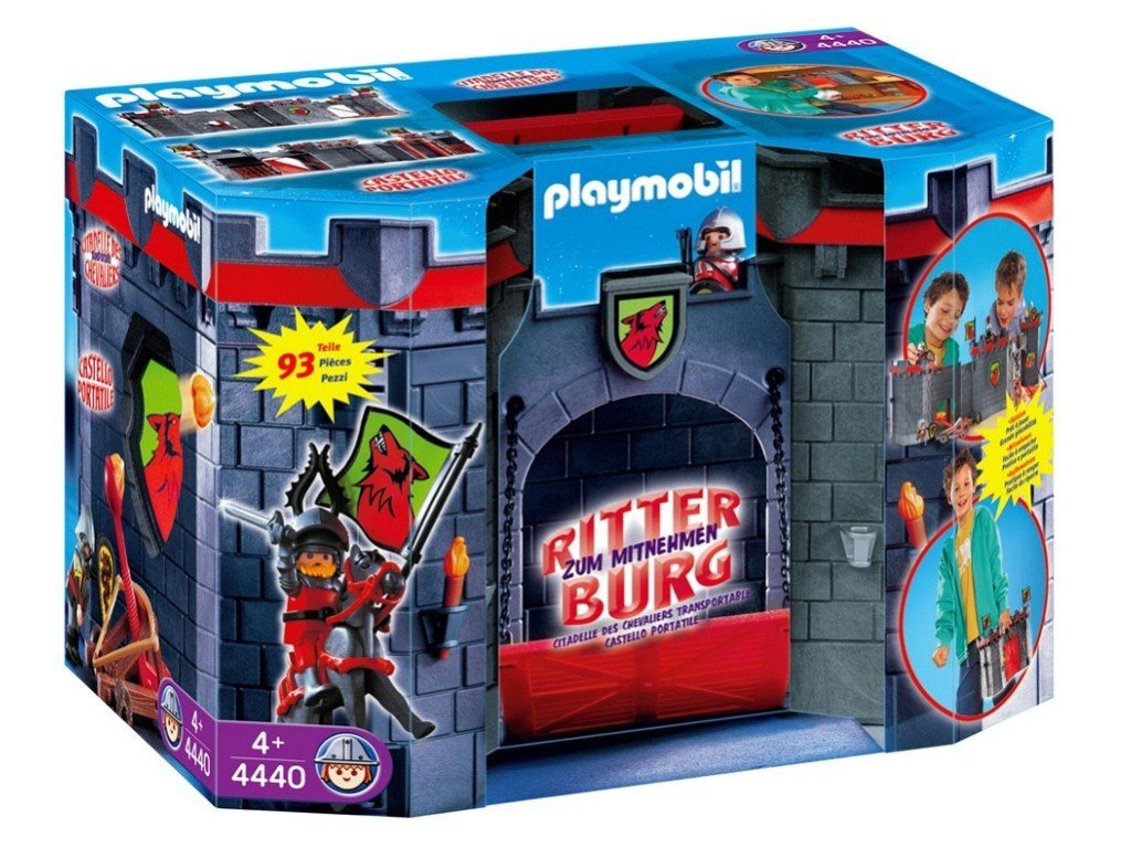 Citadelle des chevaliers transportable 4440 Playmobil