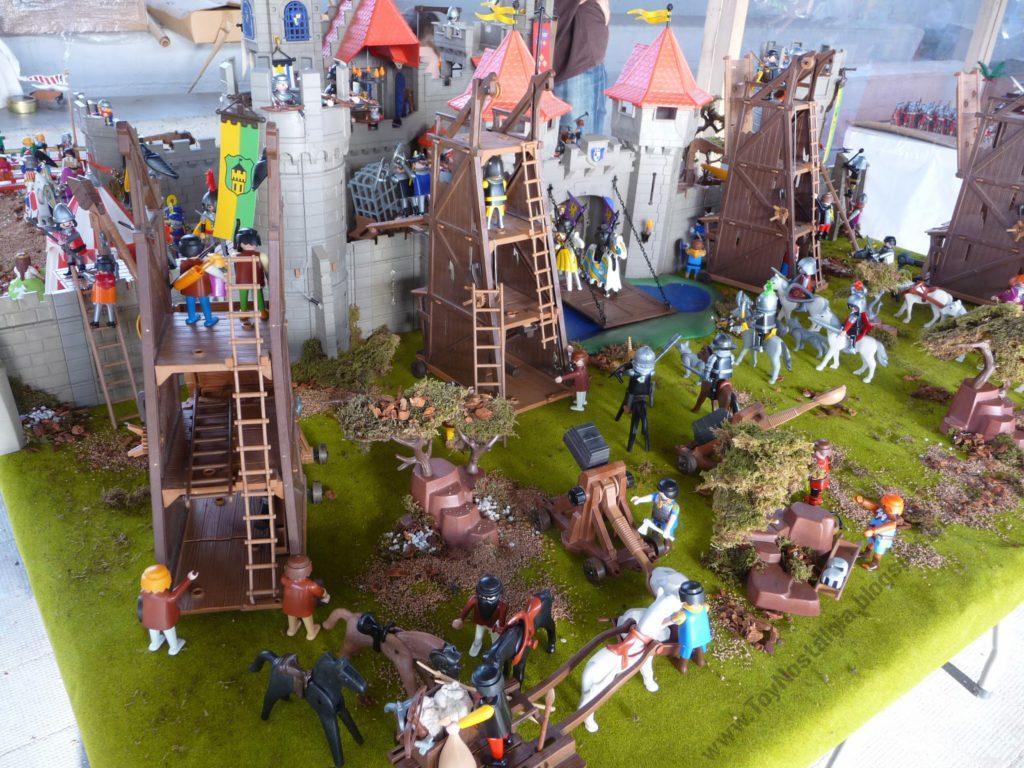 Dioram château playmobil