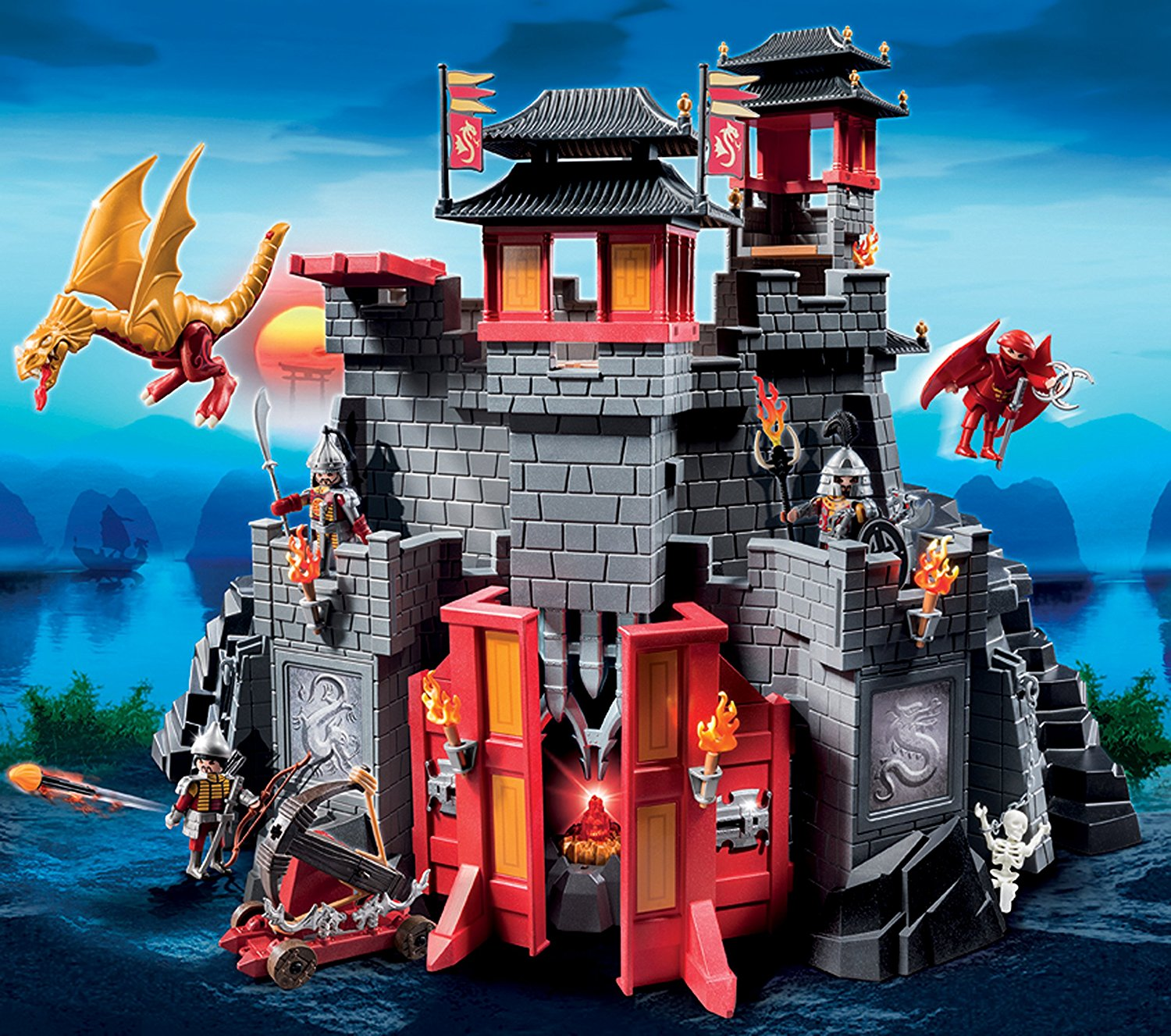 The Secret Dragon Fort Playmobil 5479