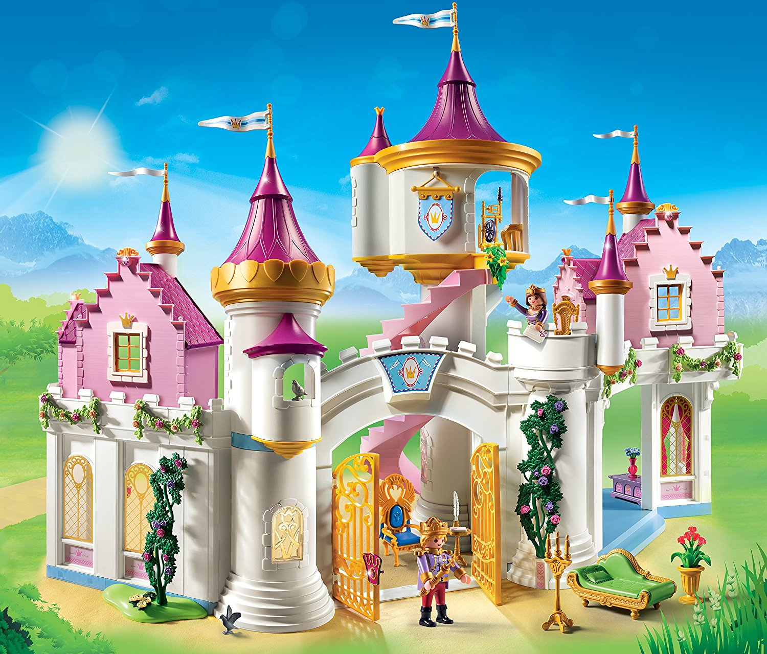 Grand Château De Princesse 6848 Playmobil
