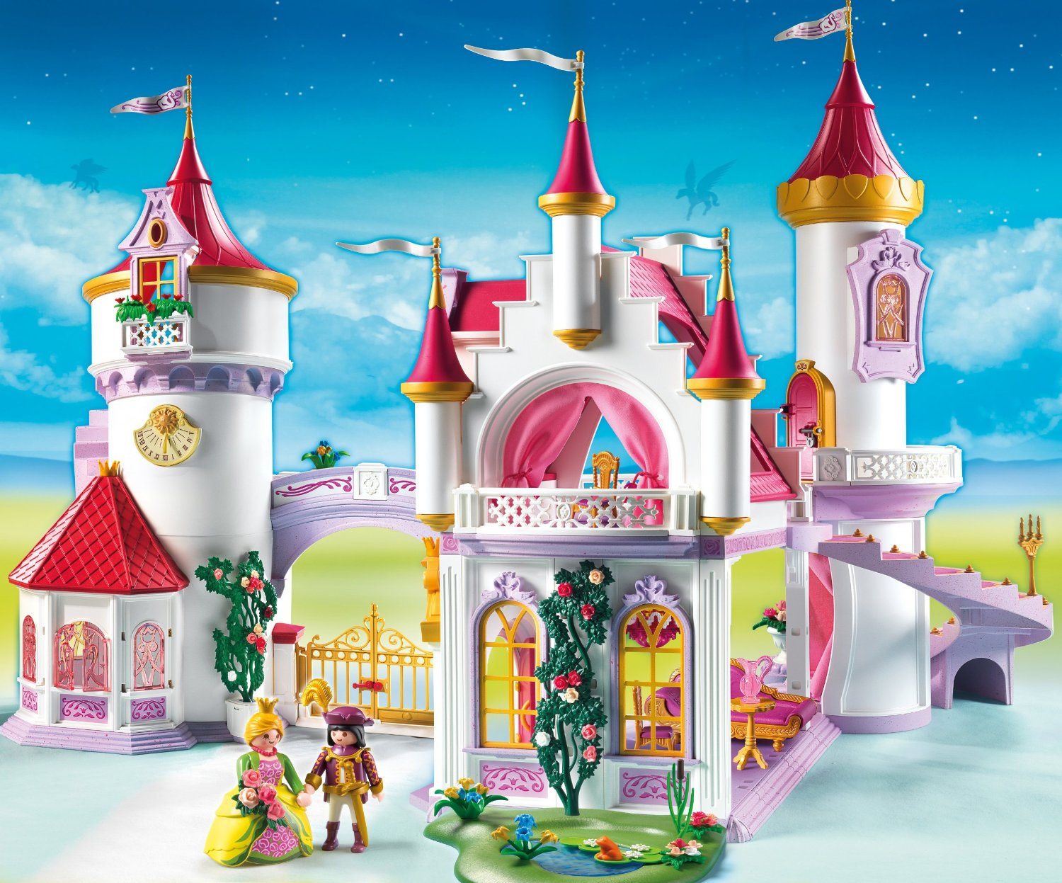 Palais de princesse 5142 playmobil ch teau fort playmobil for Image chateau princesse