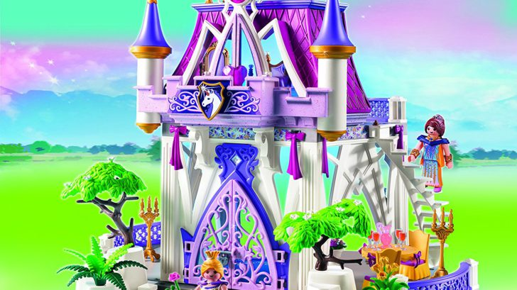 Chateaux de princesse playmobil pour fille ch teau fort for Plan chateau fort playmobil