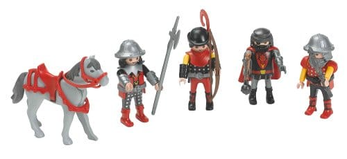 Personnages Playmobil chevaliers du Dragon 3269