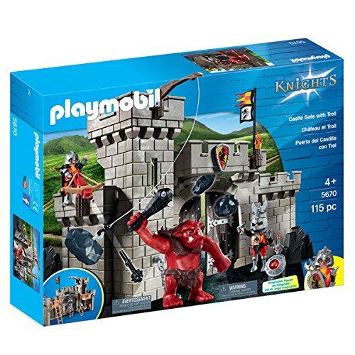 Citadelle des chevaliers du Dragon avec troll Playmobil 5670