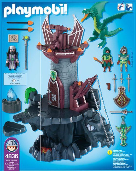 Donjon du Dragon Vert 4836 Playmobil