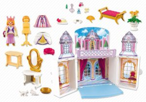 Coffret princesse 5419 transportable