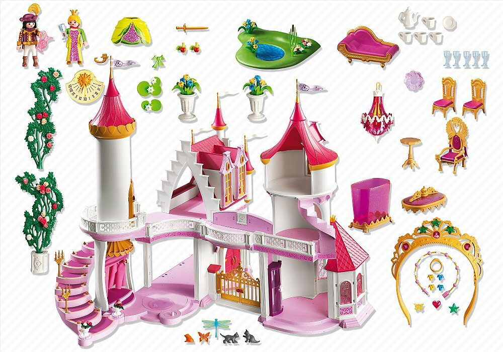 Palais de princesse 5142 Playmobil - Château fort Playmobil