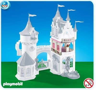 Extension de chateau princesse Playmobil pour fille