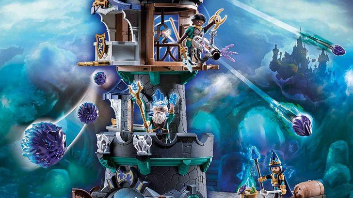 Tour des magiciens Violet Vale 70745 Playmobil Novelmore